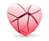Gebroken hart Stock Foto
