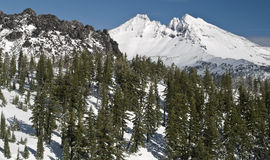 Gebroken Hoogste Berg Oregon Royalty-vrije Stock Fotografie