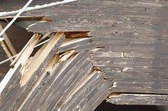Gebroken hout Royalty-vrije Stock Afbeelding