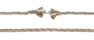 Gebroken kabel Stock Foto's