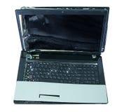 Gebroken laptop Stock Afbeelding