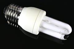 Gebroken lightbulb stock foto