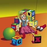 Gebroken Marionet vector illustratie