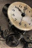 Gebroken oude klok Stock Afbeelding