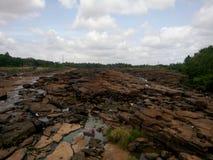 Gebroken rotsen Stock Fotografie
