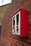 Gebroken sigaretautomaat Royalty-vrije Stock Foto