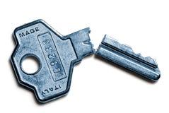 Gebroken sleutel Royalty-vrije Stock Foto's