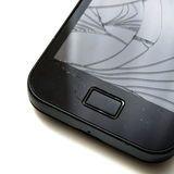 Gebroken smartphone Royalty-vrije Stock Fotografie