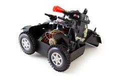 Gebroken Stuk speelgoed royalty-vrije stock afbeelding