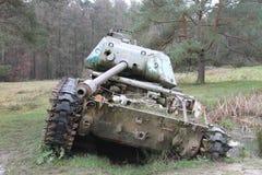 Gebroken Tank Duitsland stock foto's