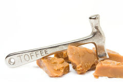 Gebroken Toffee Stock Afbeelding