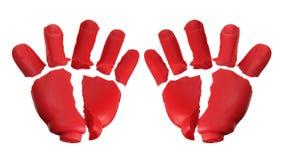 Gebroken Toy Hands royalty-vrije stock foto