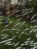 Gebroken venster stock foto's