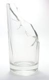 Gebroken Waterglas royalty-vrije stock fotografie
