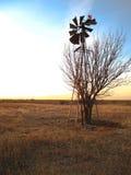 Gebroken windmolen-0093 Stock Afbeelding