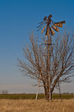Gebroken windmolen-7416 Stock Afbeelding