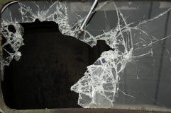 Gebroken windscherm Royalty-vrije Stock Afbeeldingen