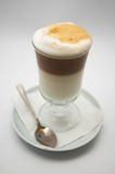 Gebrouwen enkel koffie frappe. ondiepe dof. stock fotografie