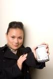 Gebruik dit apparaat - de Reeks van de Technologie Royalty-vrije Stock Fotografie