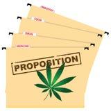 Gebruik van cannabis Stock Afbeeldingen