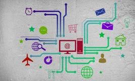 Gebruikersinterface Royalty-vrije Stock Foto's