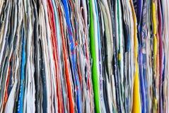 Gebruikt document Stock Fotografie
