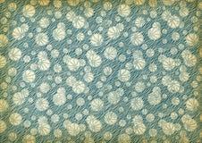 Gebruikt uitstekend behang Stock Fotografie