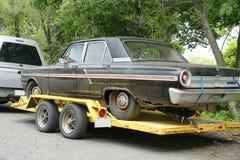 Gebruikte auto royalty-vrije stock foto's