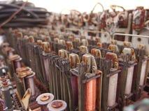 Gebruikte Elektroinductors royalty-vrije stock fotografie