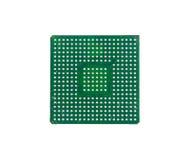 Gebruikte Microchip royalty-vrije stock foto