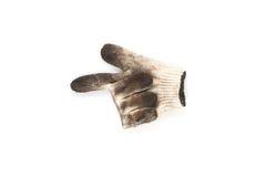 Gebruikte handschoenen Stock Afbeeldingen