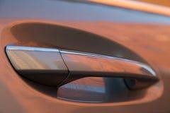 Gebruikte Mercedes-Benz-s-Klasse S350 lange (W221) autotribune op een stree Royalty-vrije Stock Foto