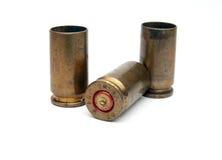 Gebruikte munitie Royalty-vrije Stock Afbeeldingen