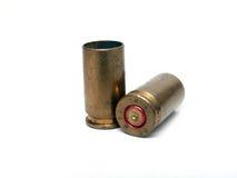 Gebruikte munitie Stock Foto's