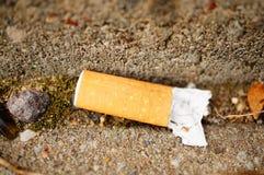 Gebruikte sigaret Royalty-vrije Stock Afbeelding