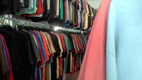 gebruikte t-shirt Stock Foto's