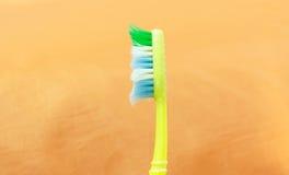 Gebruikte tandenborstel Royalty-vrije Stock Afbeeldingen