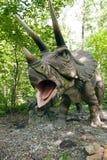 Gebrul Triceratops royalty-vrije stock fotografie