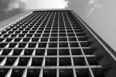 Gebäude-Seite Stockfoto