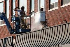 Gebäude-Wiederherstellung Lizenzfreie Stockbilder