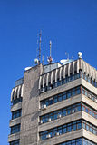 Gebäudeantenne Stockbilder