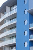 Gebäudeblau Stockbilder