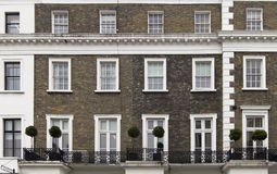 Gebäudefassade in London Lizenzfreies Stockfoto