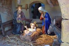 Geburt Christi Stockbild