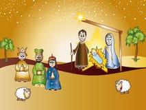 Geburt Christi Stockfoto