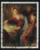 Geburt Christi durch Ruben stockfoto