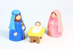 Geburt Christi eines Kindes Lizenzfreies Stockfoto