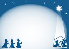 Geburt Christi-Hintergrund Lizenzfreie Stockfotografie