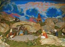 Geburt Christi-Szene lizenzfreie stockfotos