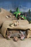 Geburt Christi von Jesus lizenzfreies stockbild